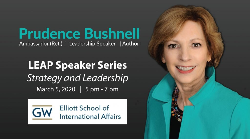 Strategy and Leadership Talk on March 5