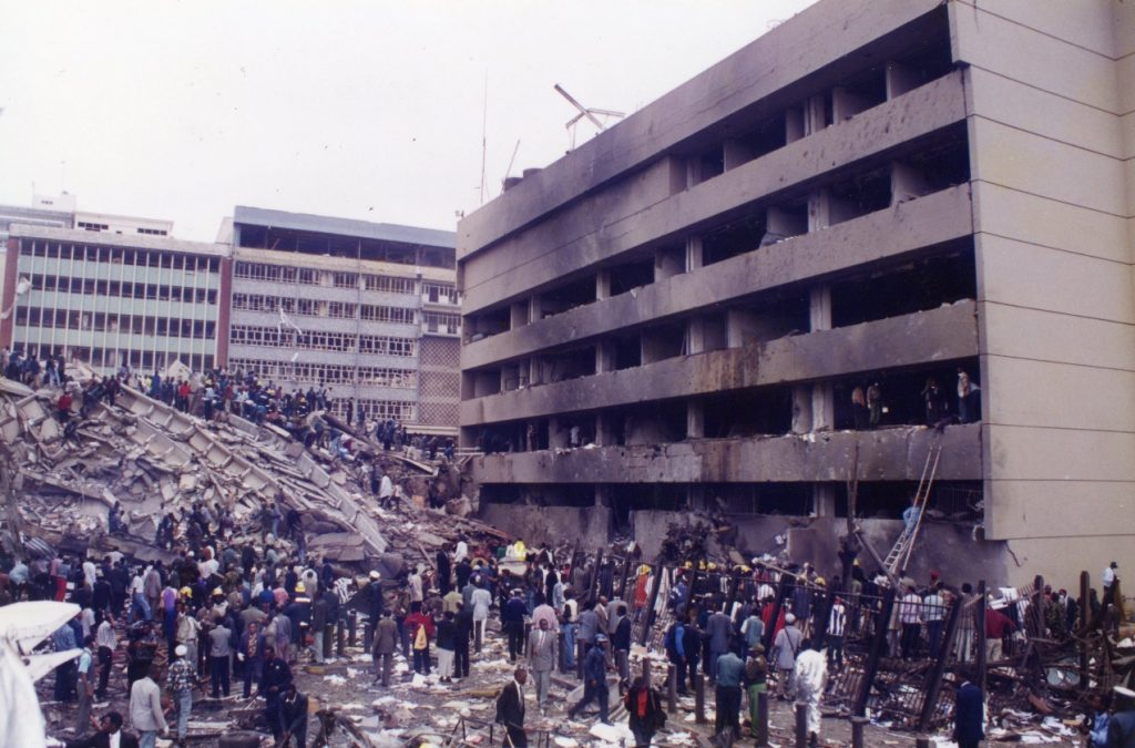 The U.S. Embassy in Kenya in the Aftermath of the 1998 Bombing
